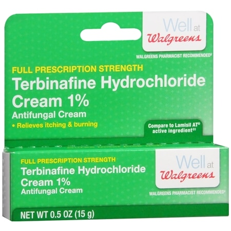 Walgreens Terbinafine Hydrochloride Cream 1% Antifungal Cream