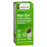 Walgreens Wal-Zyr All Day Allergy Oral Solution Grape Flavored