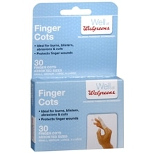 Walgreens Assorted Finger Cots Assorted