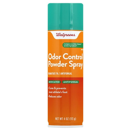 Walgreens Odor Control Foot & Sneaker Spray Powder
