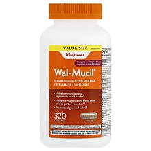 Wal-Mucil Fiber Laxative/Supplement Capsules