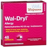 Walgreens Wal-Dryl Allergy Relief, Capsules