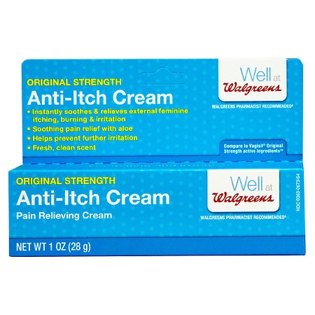 Walgreens Feminine Anti-Itch Pain Relieving Cream