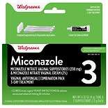 Miconazole 3 Vaginal Antifungal Combination Pack