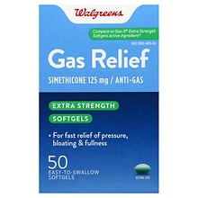 Walgreens Gas Relief Softgels