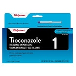 Walgreens Tioconazole 1 Vaginal Antifungal Treatment