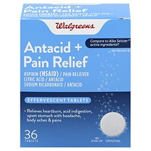 Walgreens Effervescent Pain Relief Tablets Original