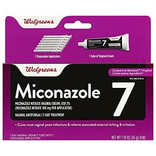 Walgreens Miconazole 7 Vaginal Antifungal 7-Day Vaginal cream
