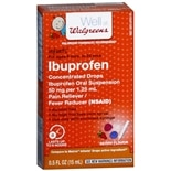 Walgreens Infants' Ibuprofen Concentrated Drops Berry