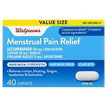 Walgreens Menstrual Relief Caplets Maximum Strength