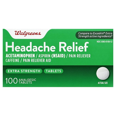 Walgreens Headache Relief, Extra Strength Tablets