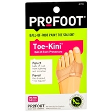 Toe-Kini Ball-of-Foot Protectors
