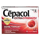 Cepacol Sore Throat Oral Pain Reliever Lozenges Cherry
