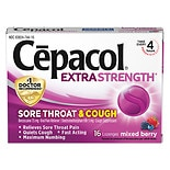 Cepacol Sore Throat & Cough Relief Lozenges Berry