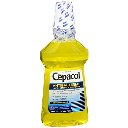Cepacol Antibacterial Multi-Protection Mouthwash Original