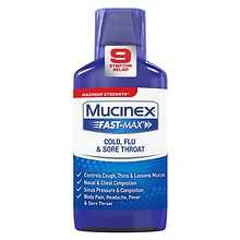 Fast-Max Cold, Flu & Sore Throat Liquid