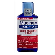 Mucinex Fast-Max Severe Congestion & Cough Liquid
