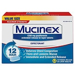 Mucinex Expectorant Tablets Maximum Strength