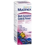 Mucinex Children's Multi-Symptom Cold & Fever Liquid