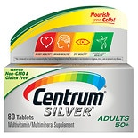 Centrum Silver Multivitamin/Multimineral Supplement Tablets