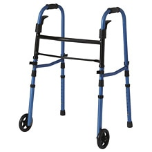 Medline Folding Paddle Walker