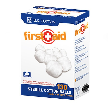 First Aid Sterile Cotton Balls
