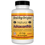 Healthy Origins Astaxanthin 4mg, Softgels