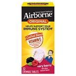 Airborne Immune Support Supplement Chewable Tablets Berry