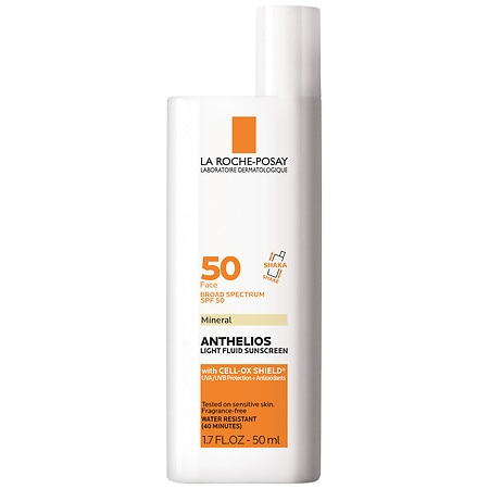 La Roche-Posay Anthelios Mineral Ultra Light Sunscreen Fluid, SPF 50