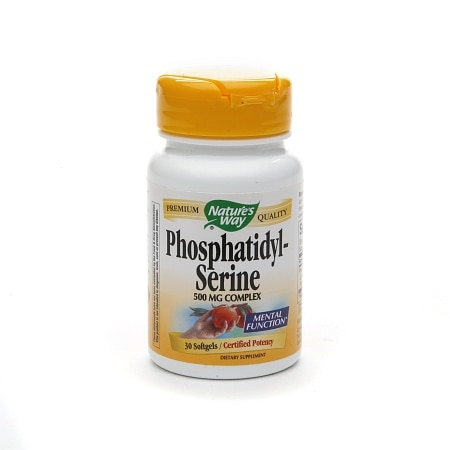 Nature's Way Phosphatidyl-Serine, 500mg, Softgels
