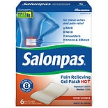 Salonpas Hot Pain Relieving Gel-Patches