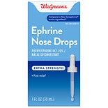 Walgreens Ephrine Nose Drops Extra Strength