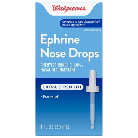 Walgreens Ephrine Nose Drops