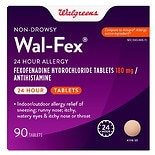 Walgreens Wal-Fex 24 Hour Allergy Tablets