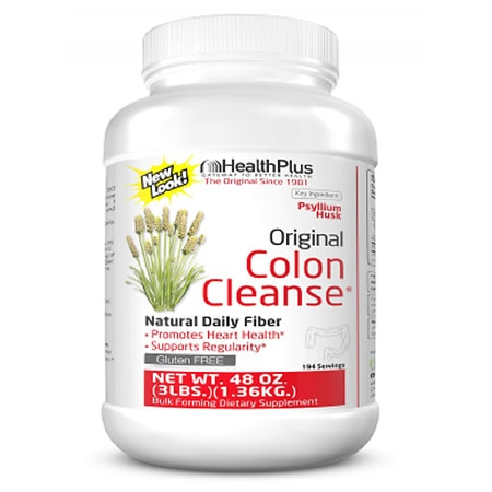 Health Plus The Original Colon Cleanse Hi Fiber