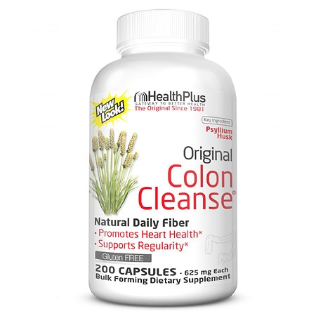 Health Plus Original Colon Cleanse, Capsules Health Fitness Skin Care Beauty Supply Deals