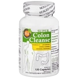 Health Plus Super Colon Cleanse Psyllium with Herbs, Capsules