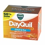 Vicks Dayquil Cold & Flu Relief LiquiCaps