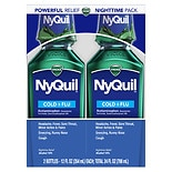 Vicks Nyquil NyQuil Cold & Flu Relief Liquid 2 Pack Original Flavor