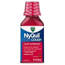 Vicks Nyquil NyQuil Cough Relief Liquid Cherry