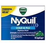 Vicks Nyquil NyQuil Cold & Flu Relief LiquiCaps