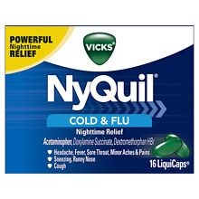 NyQuil Cold & Flu Relief LiquiCaps