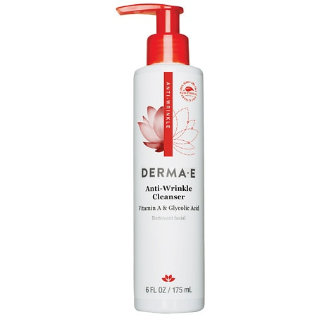 derma e Anti-Wrinkle Vitamin A Glycolic Cleanser