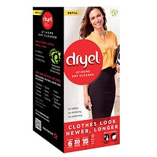 Dryel Refill Cloths Clean Breeze