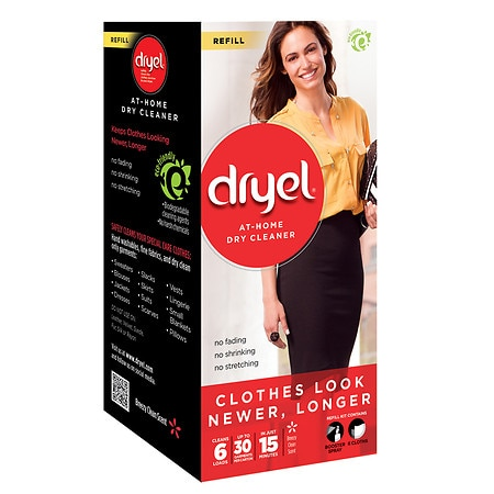 Dryel At-Home Dry Cleaner Refill Clean Breeze