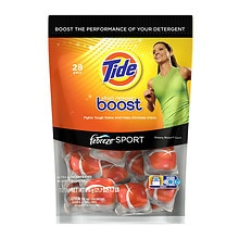 Boost Stain Release with Febreze Sport In-Wash Booster Pacs
