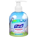 Purell Advanced Hand Sanitizer with Baby Graphics, Cup Holder Pump