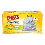 Glad Odor Shield Tall Kitchen Drawstring Bags Fresh Lemon