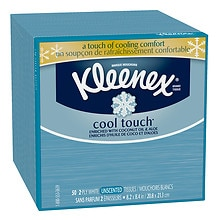 Cool Touch 3-Ply Tissues White, Unscented