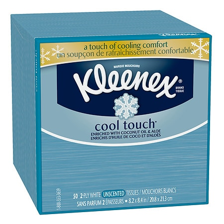 Kleenex Cool Touch Tissues, Upright